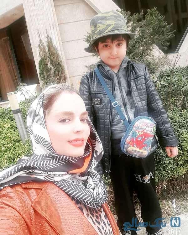 ساتیار و مادرش