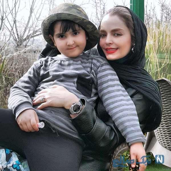 زیباترین عکسهای سپیده خداوردی و پسرش