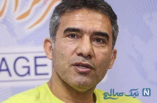 تصویری از احمدرضا عابد زاده و بازیگر معروف در باشگاه بدنسازی