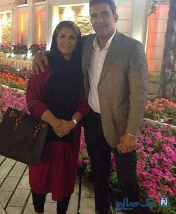تصویری از احمدرضا عابدزاده و همشرش