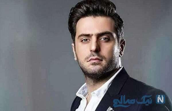 تصویر علی ضیا مجری معروف در ویلای زیبا و لاکچری در استانبول
