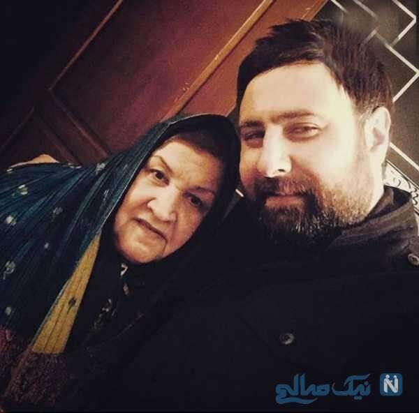 محمد علیزاده خواننده پاپ و مادرش
