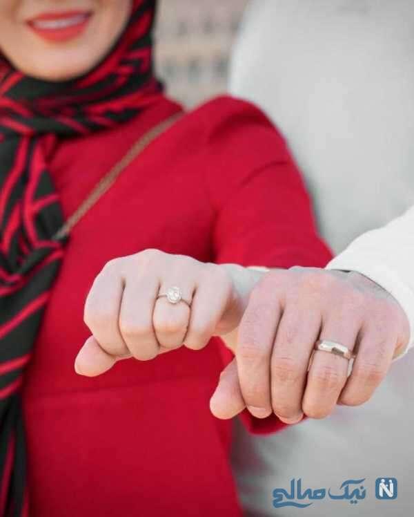 ازدواج مجری فوتبالی