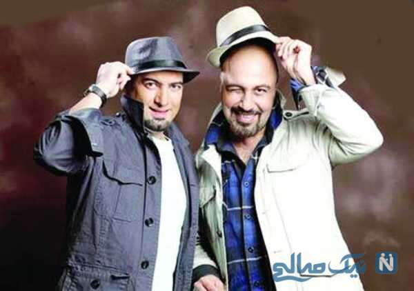 رضا عطاران و مجید صالحی