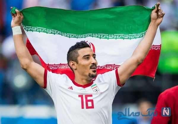 بازیکن سابق تیم ملی ایران