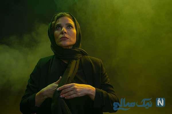 استایل متفاوت سحر دولتشاهی در فوتوکال فیلم «خط فرضی»