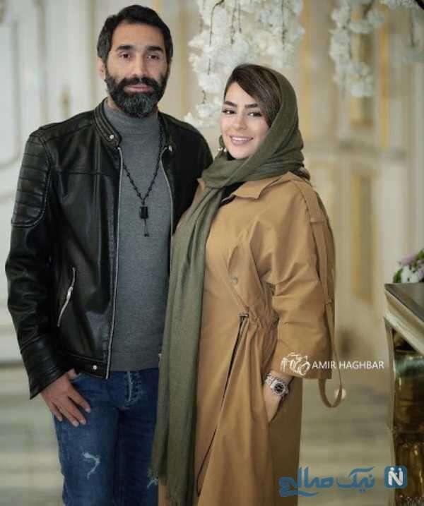 عکسهای مدلینگ سمانه پاکدل و همسرش