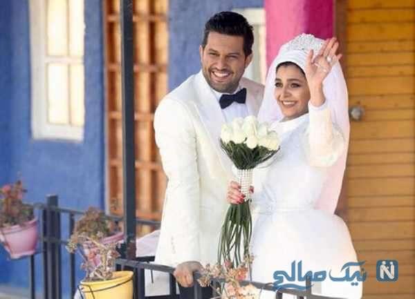 حامد بهداد و خانم بازیگر