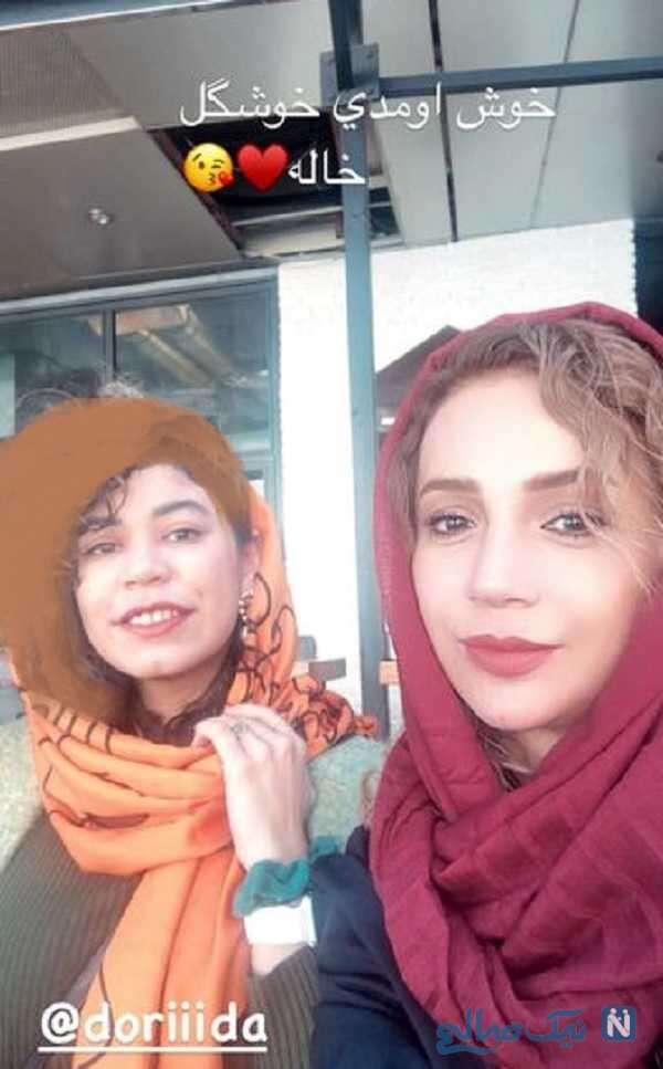 خواهرزاده شبنم قلی خانی