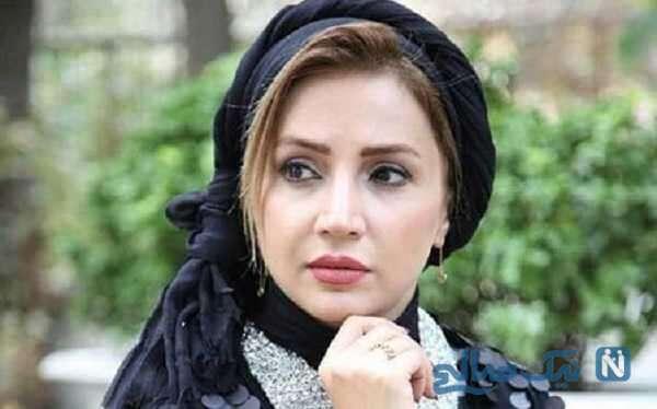 میکاپ جدید شبنم قلی خانی بازیگر سریال بیگانه ای با من است