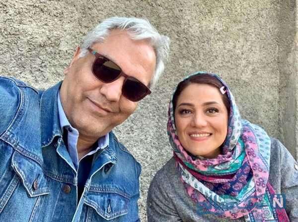 مهران مدیری و خانم بازیگر