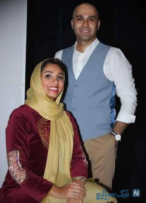 نیما رئیسی و همسرش