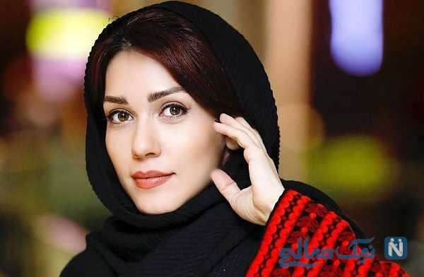 پرواز پاراگلایدر شهرزاد کمال زاده بازیگر ایرانی در ارتفاعات تهران