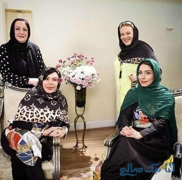 بازیگران مشهور در شام ایرانی