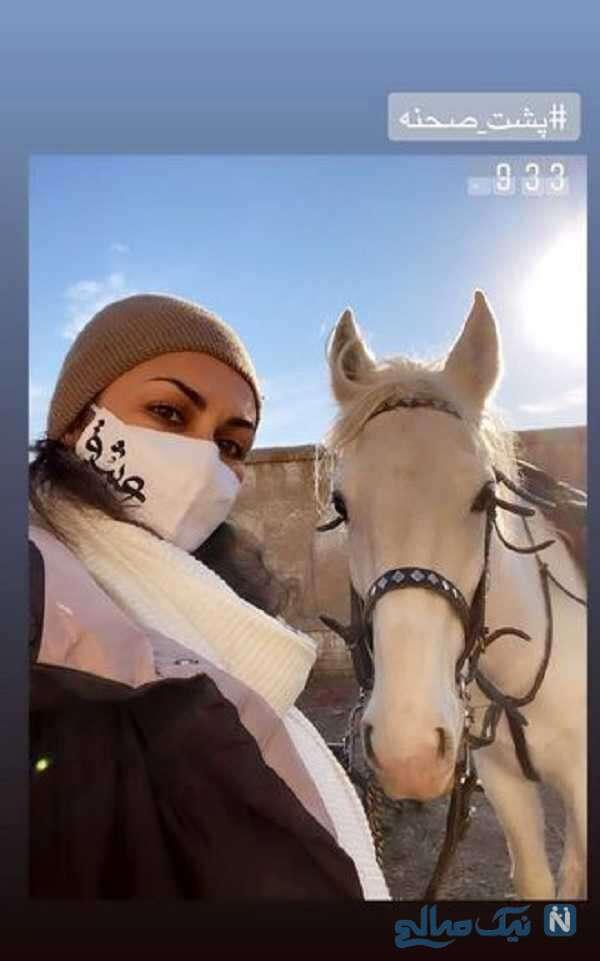 اسب سواری شیوا ابراهیمی