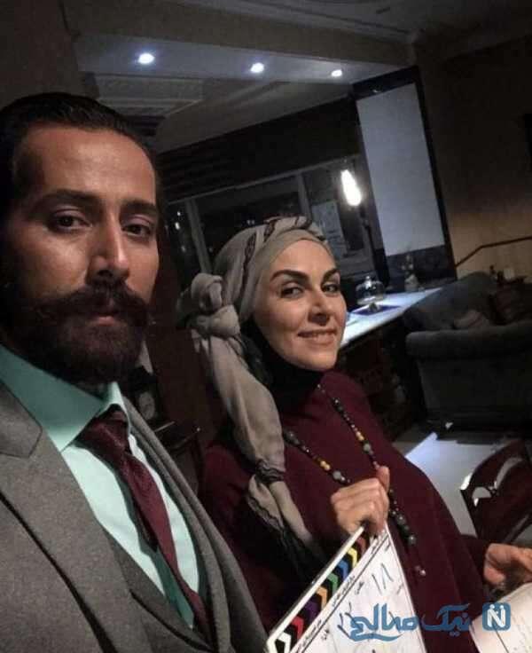 تصویری از شیوا ابراهیمی بازیگر سریال خانه امن