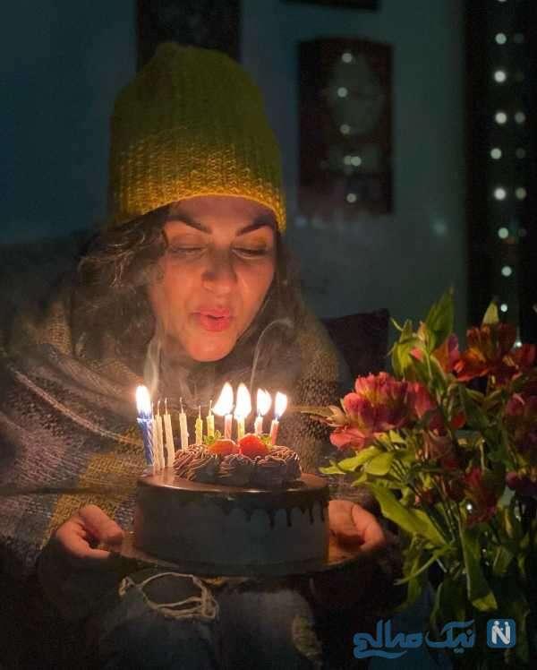 جشن تولد شیوا ابراهیمی بازیگر