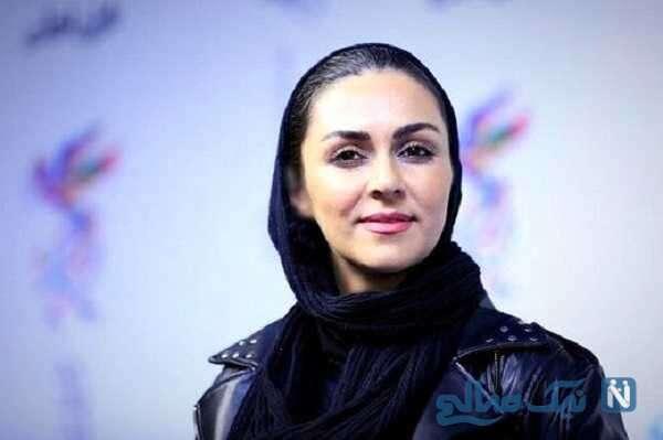 جشن تولد شیوا ابراهیمی بازیگر با کیک تولد خاص و زیبا