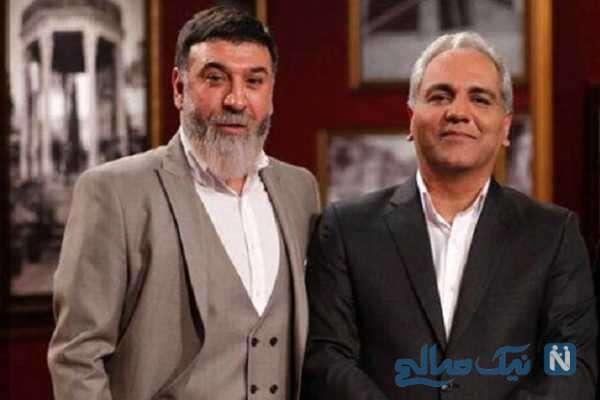 مهران مدیری و علی انصاریان