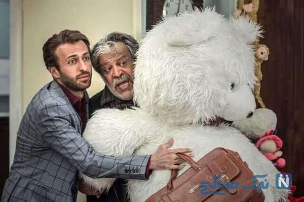 عکس سلفی جالب بازیگران سریال باخانمان در پشت صحنه