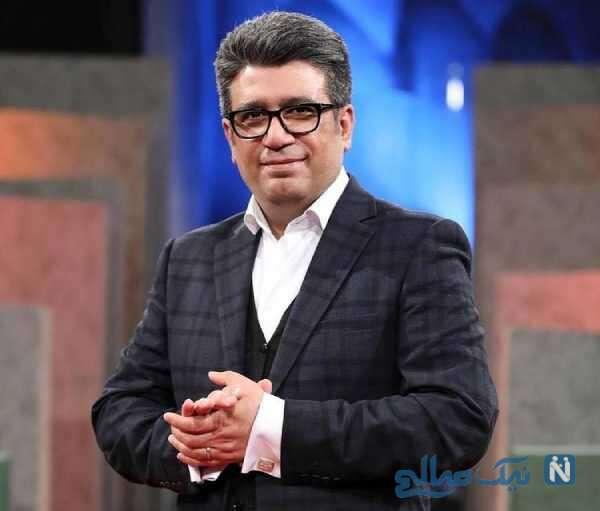 رضا رشیدپور مجری تلویزیون