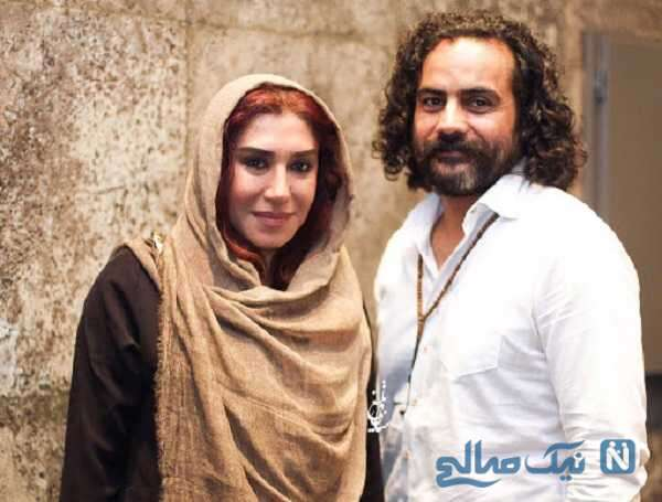 بیماری همسر نسیم ادبی بازیگر
