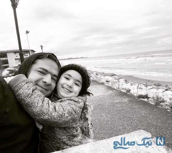 همسر و دختر نسرین نصرتی