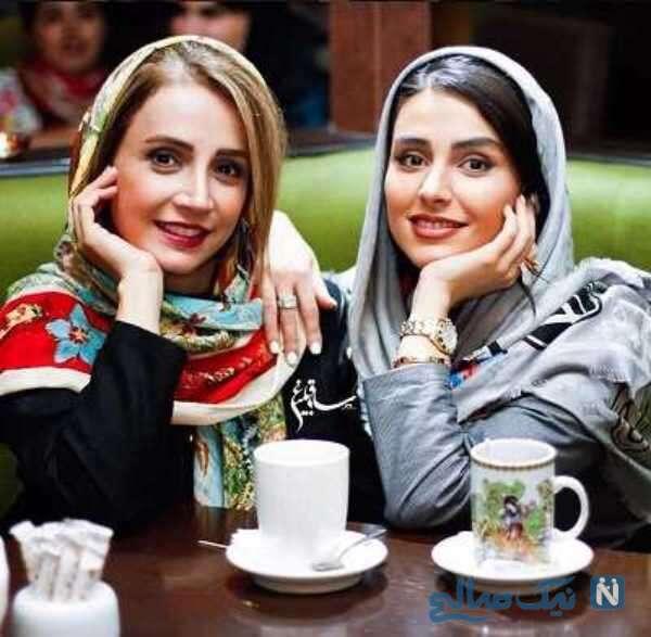 لاله مرزبان بازیگر جوان و شبنم قلی خانی