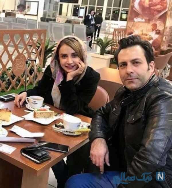 مجید واشقانی بازیگر معروف و همسرش