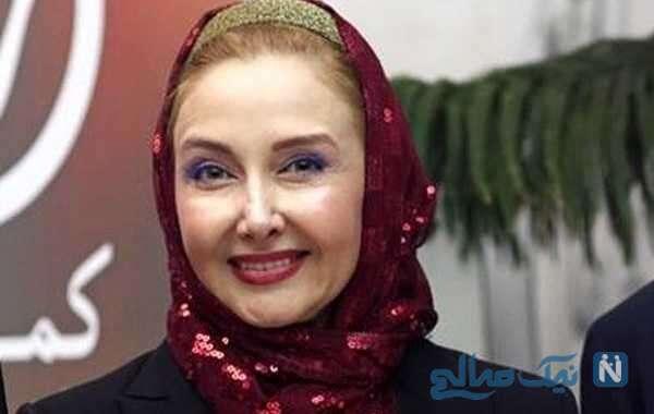 سفره هفت سین زیبای کتایون ریاحی بازیگر زن برای سال نو