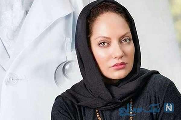 تبریک سال نو مهناز افشار بازیگر معروف به زبان فارسی و انگلیسی
