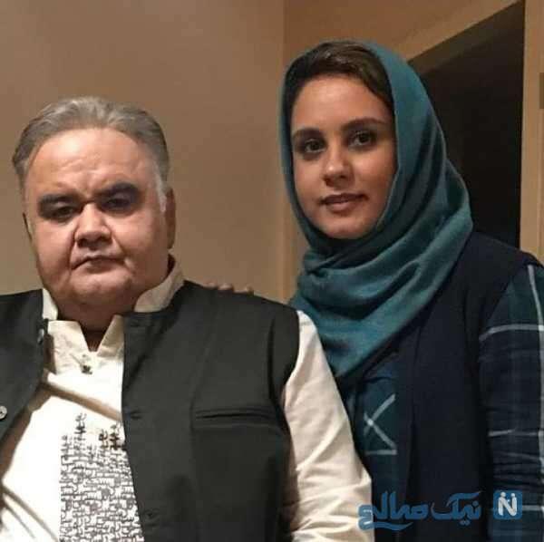 دختر اکبر عبدی
