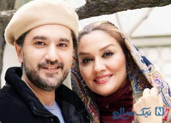 سلفی امیرحسین مدرس و همسرش
