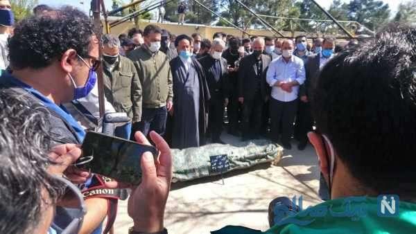 تصاویری از مراسم تشییع آزاده نامداری