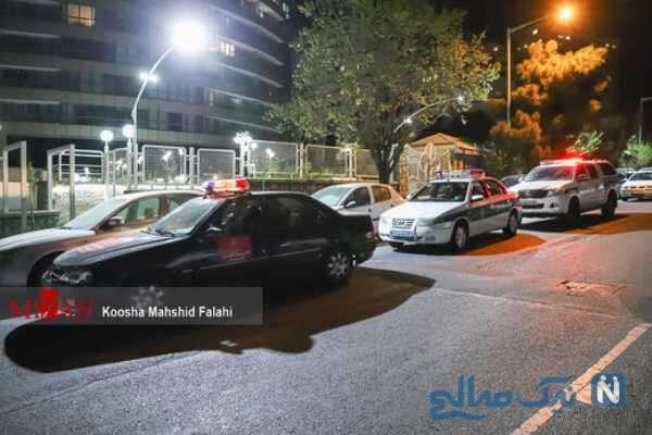 محل فوت آزاده نامداری مجری تلویزیون