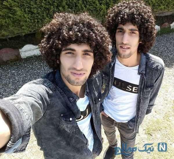 شوخی محسن تنابنده با موهای رحمان رحیم