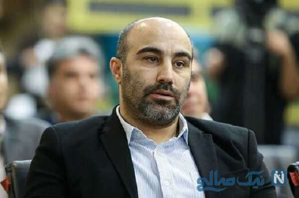 شوخی محسن تنابنده با موهای رحمان رحیم در پشت صحنه سریال پایتخت ۶