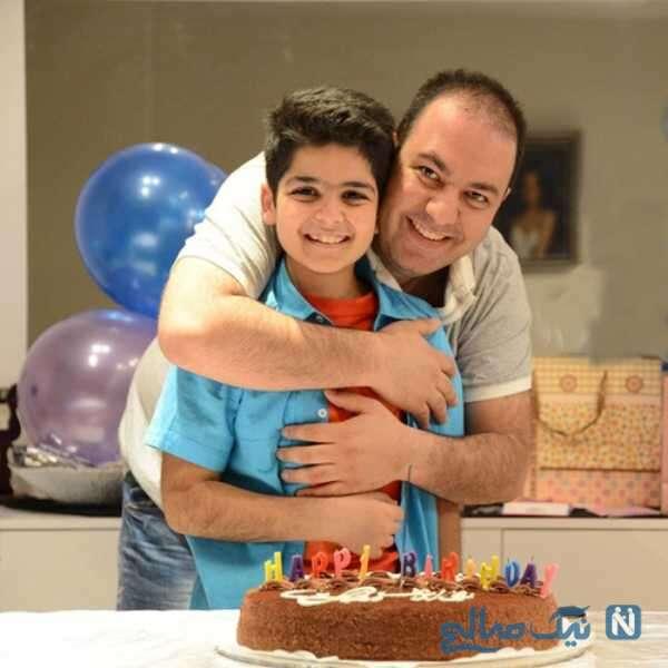 جشن تولد پسر کمند امیرسلیمانی