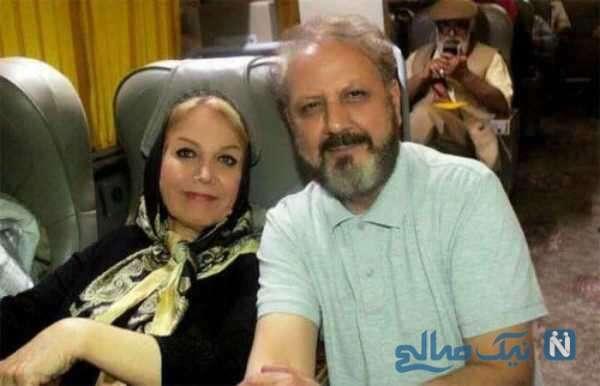 جلیل فرجاد و همسرش