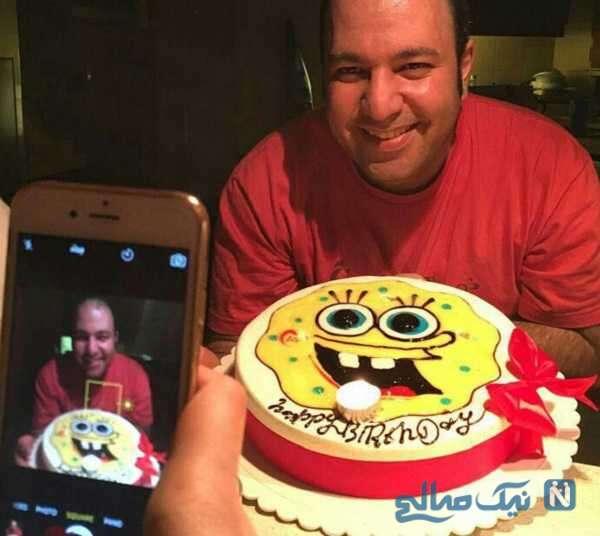 تبریک تولد نرگس محمدی به همسرش