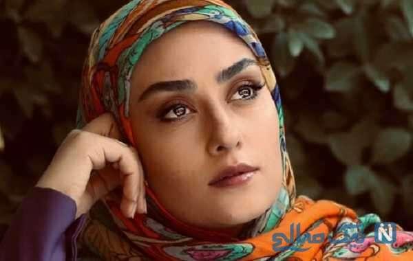 عکس دیده نشده از الهام طهموری بازیگر سریال پدر در کنار خواهرشوهرش