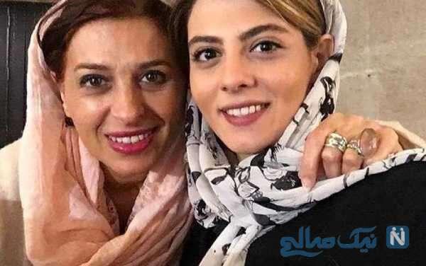 مهسا طهماسبی و عمه اش