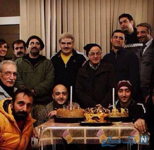 جشن تولد فریدون جیرانی کارگردان معروف
