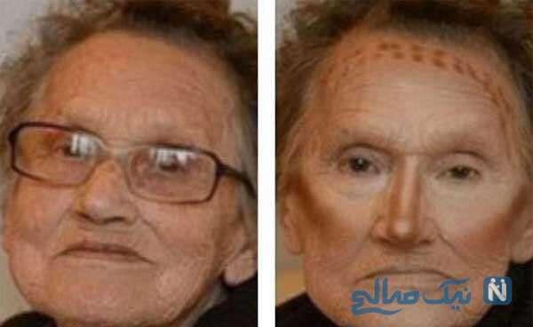 مادر بزرگ 80 ساله
