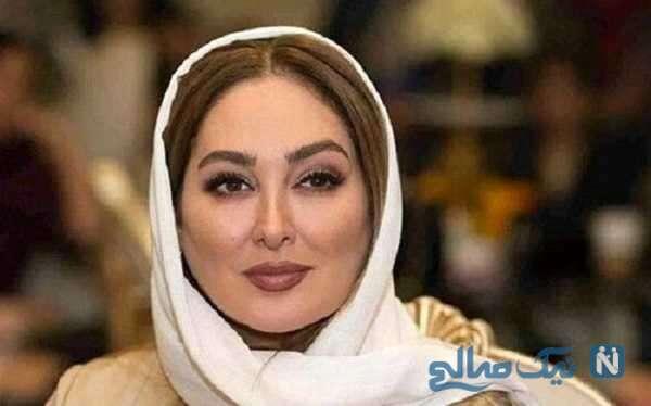 سفره هفت سین الهام حمیدی زیبا و خاص در نوروز ۱۴۰۰