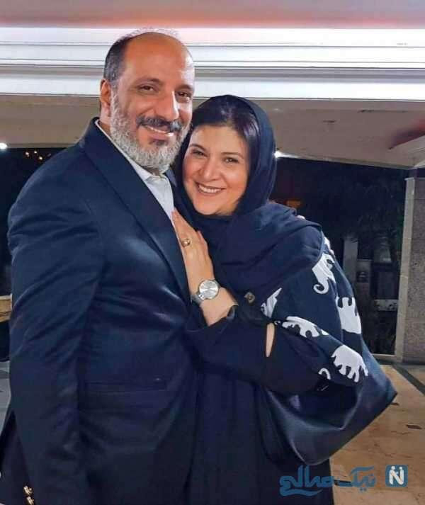 تبریک تولد امیر جعفری به همسرش