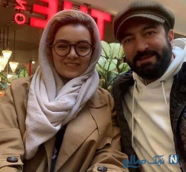 مجید صالحی بازیگر سینما و همسرش