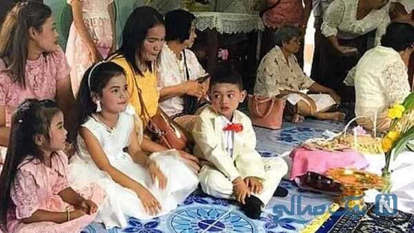 ازدواج دو کودک 5 ساله
