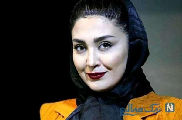 روز تولد مریم معصومی بازیگر مشهور با ست جالب کیک و لباسش