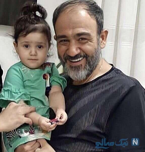 مهران غفوریان با دخترش هانا